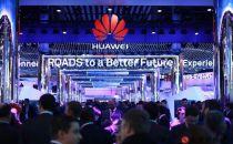在超6300平米的MWC最大展台上,华为向世界展示5G等产品技术创新
