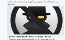 币安网发全球通缉令,25万美元等值赏金追缉黑客