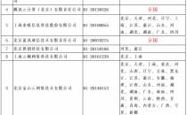 (最新)111家CDN牌照企业名单、经营范围表