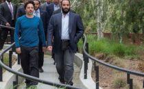 沙特王储造访苹果等硅谷科技巨头总部 和谷歌签署云计算合同