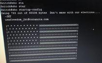伊朗3500台路由器遭黑客攻击:字符组成一面美国国旗