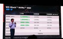 西部数据推出游戏专用WD BLACK NVME SSD