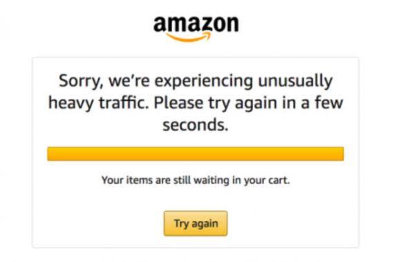 亚马逊购物节首日系统崩溃:手动添加服务器应对流量峰值1