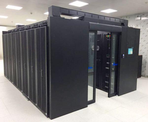 图 辽宁工程技术大学玉龙校区采用台达易动系列微模块数据中心打造新机房