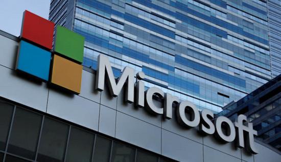 微软云计算收入首超Windows 推动微软市值首破1万亿美元