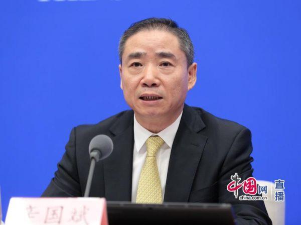 圖為工業和信息化部副部長辛國斌。中國網 李佳 攝