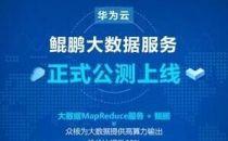 华为云鲲鹏大数据服务公测上线,加速企业智能化升级