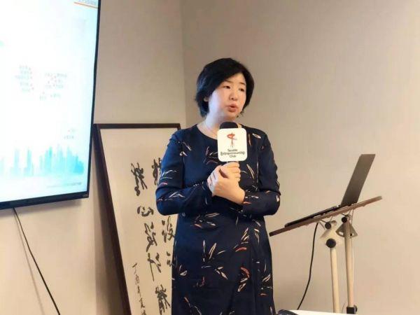 中国电信国际有限公司高级专家  Susan Zhang