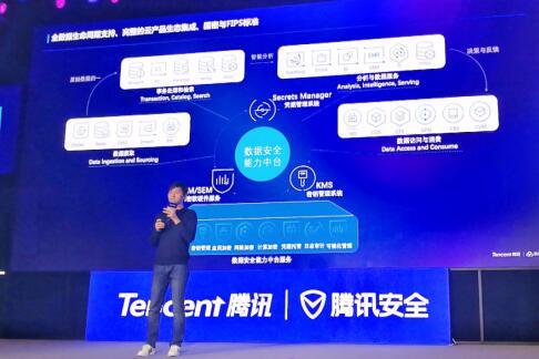 腾讯安全推出云数据安全中台,助力企业