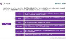 镜鉴PaaS:21大品类服务,构建云平台大生态圈