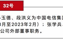 国资委调整中国电信外部董事名单:李跃等三人获聘,任期三年