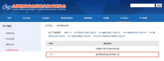 南京聚铭网络成功入选为全国信息安全标