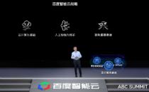 """百度CTO王海峰发布百度智能云""""AI中台"""" 加速产业智能化"""