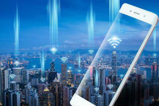 信号基站智慧城市数字城市