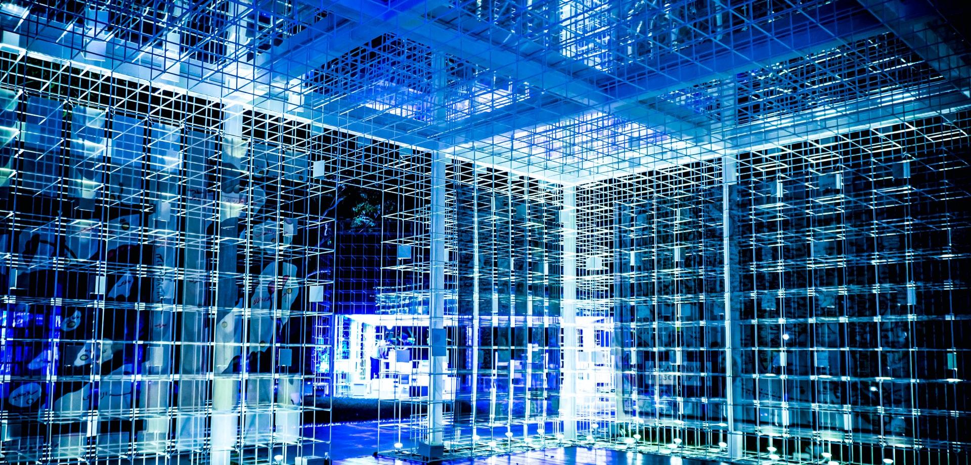 数据中心建设网络(Unnsplash免费)