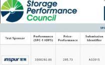 控全球领跑,浪潮存储再夺SPC-1评测全球性能冠军