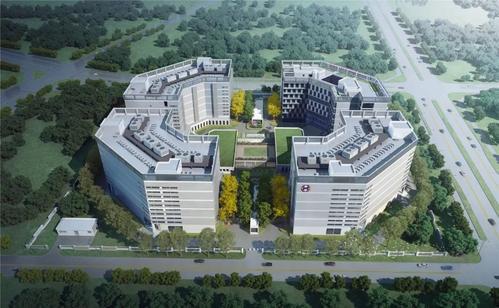 """国家东南健康医疗大数据中心""""八角大楼"""