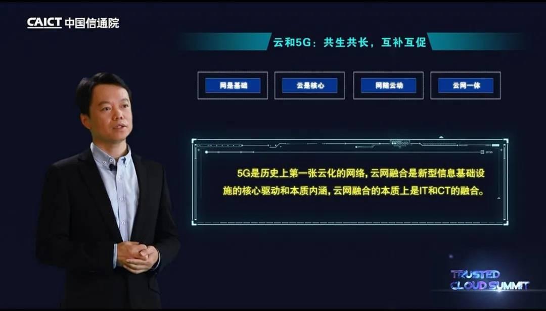 中国电信云计算分公司副总经理李云庄发表主题演讲