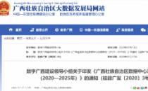 广西数据中心发展规划(2020—2025年)政策解读