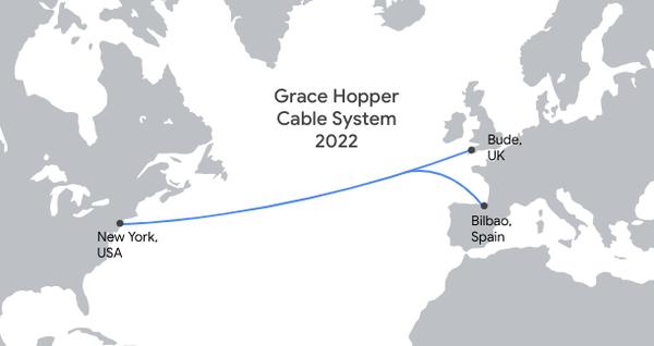 谷歌正在建设第四条私人海底电缆
