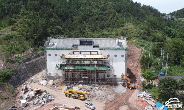 云阳数智森林小镇大数据中心机房预计9月完工
