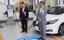 台达横滨电动车充电站落实智能可持续发展理念