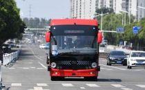 安徽首条智能网联5G线路开通 安凯无人驾驶客车投入开放道路运行