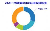 中国AI云服务市场报告 华为云份额领先