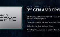AMD预告第三代霄龙EPYC:Zen3加持、世界最强x86服务器处理器