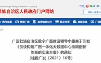 广西:力争成为大数据中心国家枢纽节点