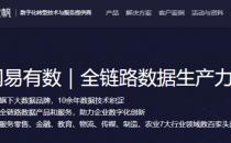 """网易数帆正式升级旗下大数据业务品牌为""""网易有数"""""""
